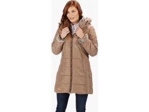 Damski płaszcz zimowy RWN116 REGATTA Pernella Beżowy