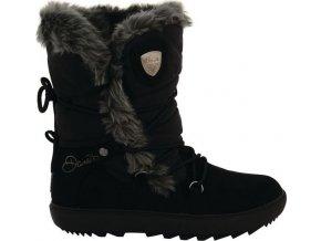 Damskie śniegowce czarne DWF313 DARE2B Karellis