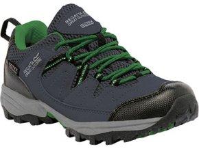 Dziecięce buty trekkingowe RKF449 REGATTA  Holcombe Low Szara