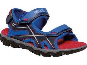 Granatowe sandały dziecięce Regatta RKF613 Kota Drift Jnr