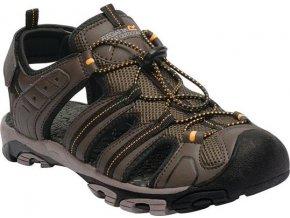 Brązowe sandały męskie RMF476 REGATTA Westshore