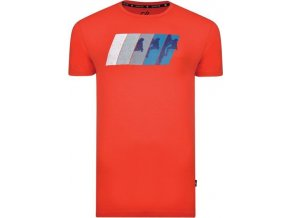 Męska koszulka Dare2B DMT481 DYNAMISM Tee czerwona