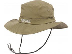 Kapelusz męski Regatta RUC021 Hiking Hat WR brązowy