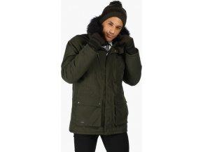 Męska kurtka zimowa Regatta RMP235 SALINGER Khaki 4