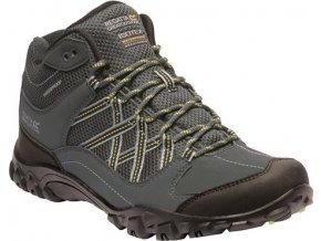 Pánská treková obuv RMF622 REGATTA Edgepoint Mid Šedá