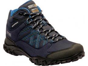 Dámská treková obuv RWF622 REGATTA  Edgepoint Modrá