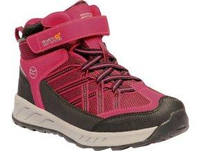 Dziecięce buty trekkingowe RKF508 REGATTA Samaris V Różowy