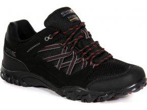 Czarne buty turystyczne męskie RMF671 REGATTA Edgepoint III
