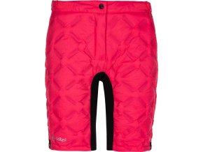 Damskie szorty puchowe  KILPI FANCY-W  Różowy kolor