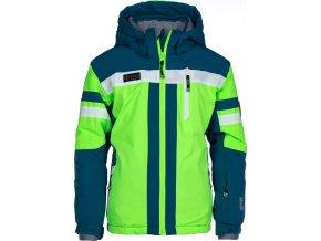 Męska kurtka narciarska KILPI PONTE-JB Zielony kolor