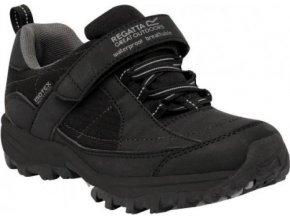 Dětské outdoorové boty RKF366 REGATTA  Trailspace Černé