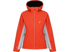 Dámská lyžařská bunda DARE2B  DWP437  Thrive Neon oranžová