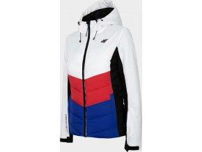 Kurtka narciarska damska 4F KUDN201 Biała