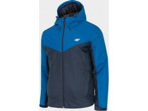 Męska kurtka narciarska 4F KUMN301 Niebieska