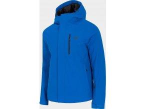Męska kurtka narciarska 4F KUMN351 Niebieska