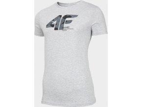 Pánské tričko 4F TSM214 Šedé