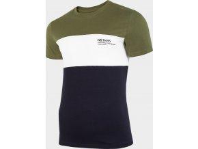 Pánské tričko 4f TSM216 Khaki