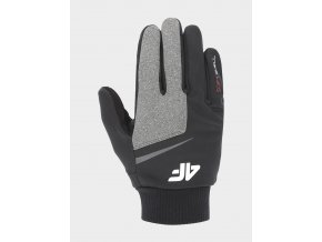 Softshellové rukvice 4F REU107 Šedé