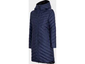 Dámský kabát 4F KUDP210 Tmavě modrý