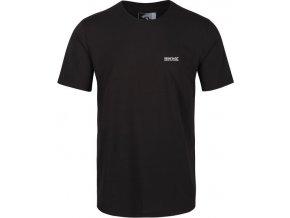 Pánské tričko Regatta  Tait Černé