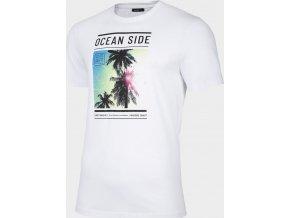 Pánské tričko Outhorn TSM621 Bílé
