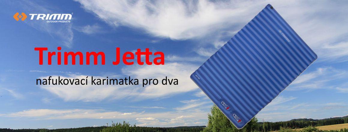 Karimatka pro dva Trimm Jetta blue