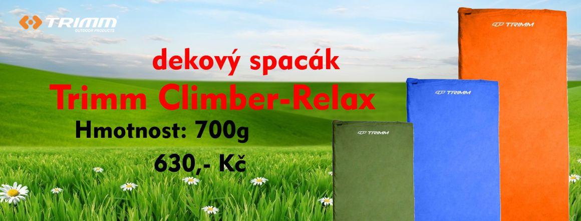 Spacák Trimm Climber - Relax