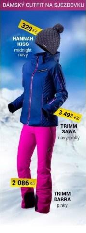 Outfit lyžařský dámský pinky
