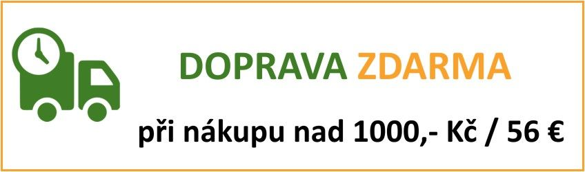 Doprava nad 1000 Kč zdarma