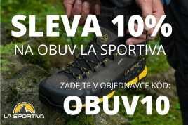 Dodatečná 10% sleva na obuv