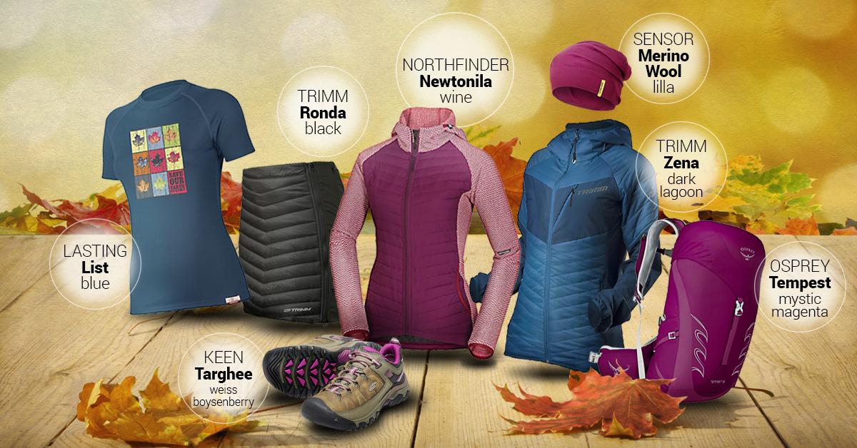 Dámský podzimní outfit lilla 2020