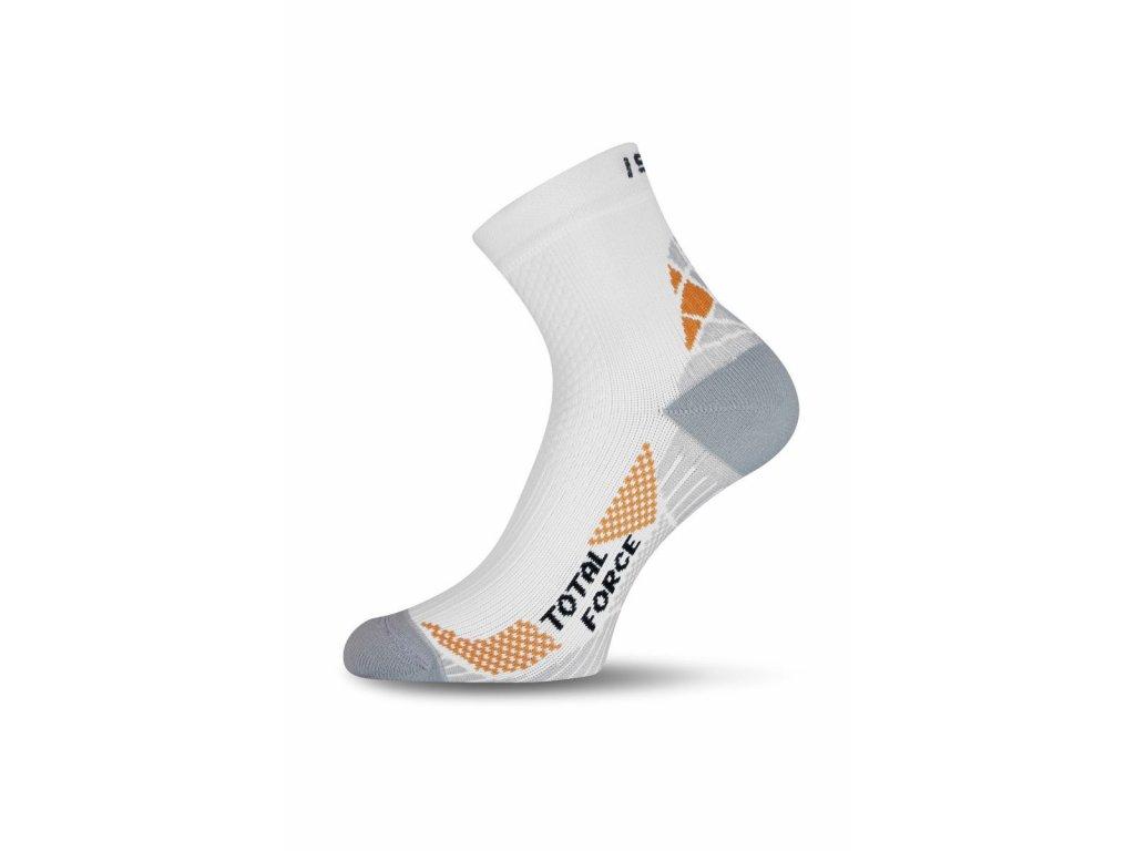 47d83c75620 Lasting RTF 001 bílé běžecké ponožky - OutdoorMarket