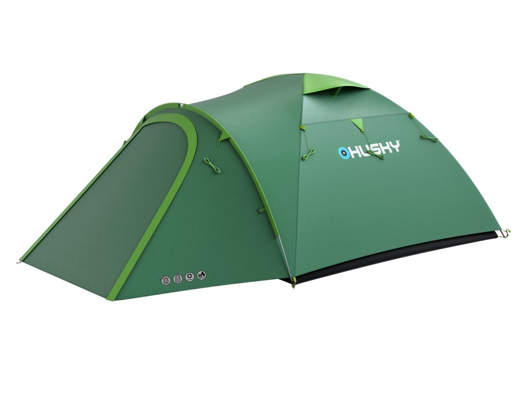 348f9bc002f Husky Stan Outdoor Bizon 4 plus zelená - OutdoorMarket