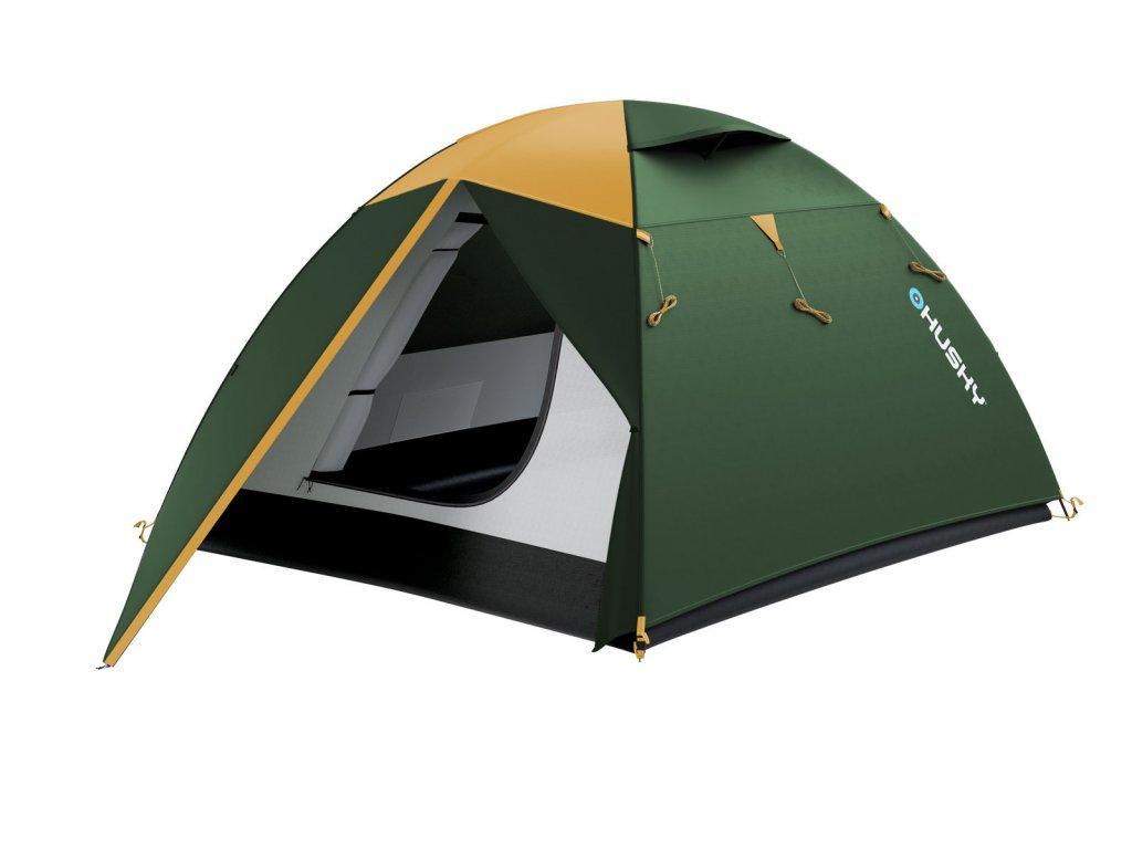 e70d9022e75 Husky Stan Outdoor Boyard 4 classic zelená - OutdoorMarket