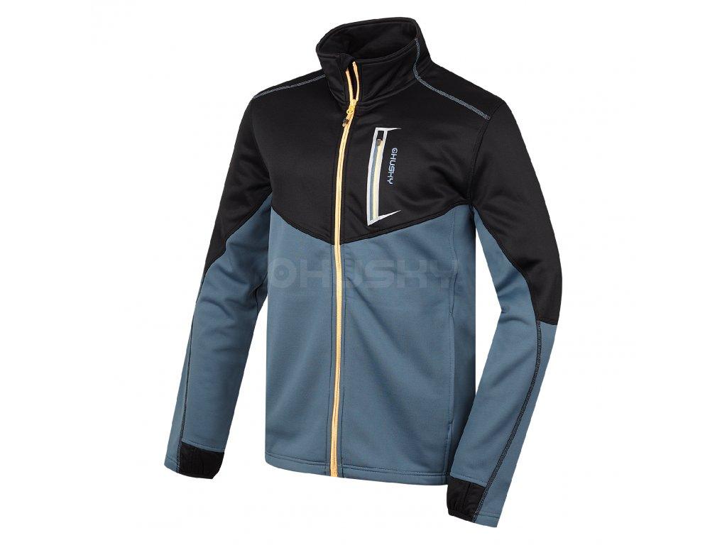 Husky Pánská fleecová bunda Avely M tm.modrá Velikost: XXL
