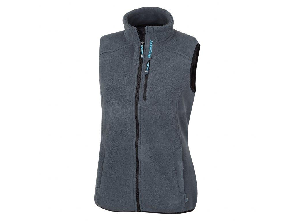 Husky Dámská outdoor vesta Brofer L antracit Velikost: XL