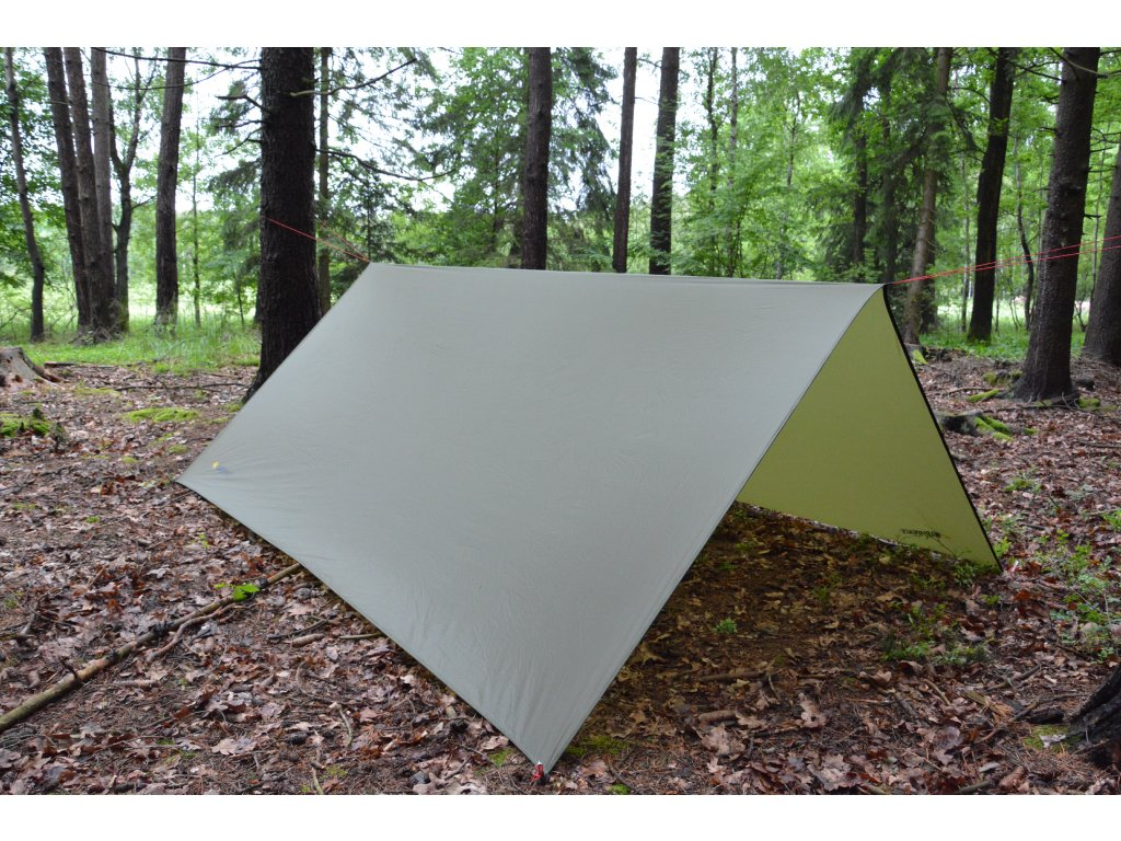 Warmpeace plachta SHELTER olive green