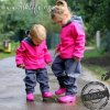 unuo softshellové kalhoty s fleecem Souhvězdí medvěda fuchsiové (Softshell kids trousers) (Velikost UNI (Size) 128/134)
