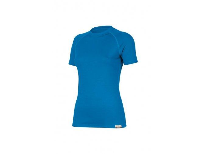 Lasting ALEA 5151 modrá vlněné Merino triko