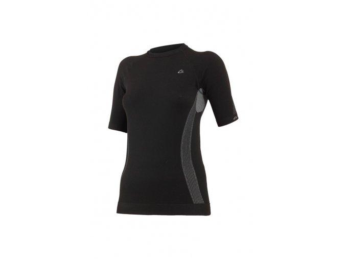 Lasting MARICA 9080 černá termo bezešvé triko