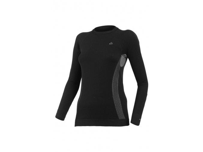 Lasting MARELA 9080 černá bezešvé triko