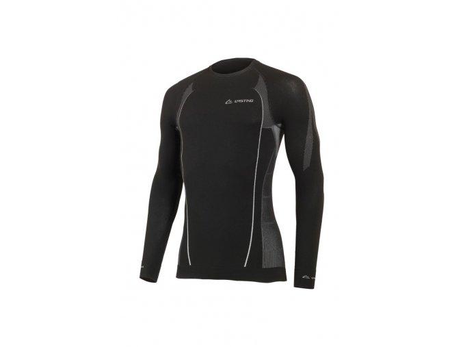Lasting MARBY 9080 černá bezešvé triko