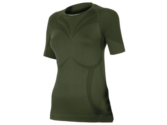 Lasting ALBA 6262 zelená termo bezešvé triko