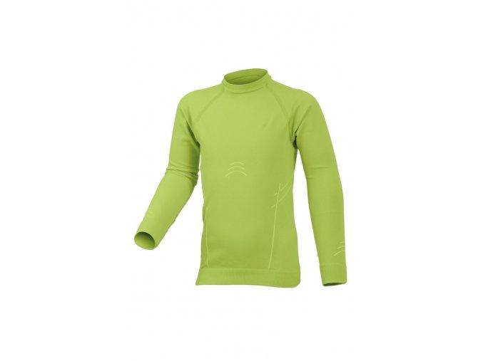 Lasting DARIO 6101 zelená Termo bezešvé triko