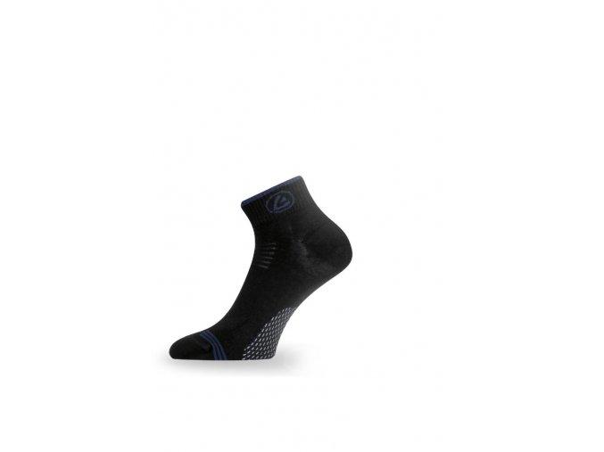 Lasting ABD 958 ponožky pro aktivní sport černá  ponožky