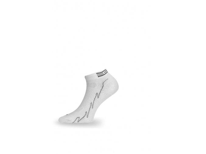 Lasting ACH 098 ponožky pro aktivní sport bílá  ponožky