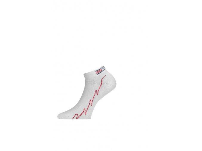 Lasting ACH 058 ponožky pro aktivní sport bílá  ponožky
