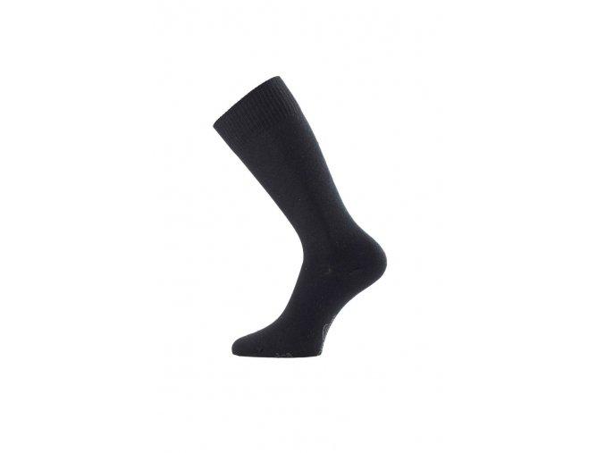 Lasting DCA 900 černá Coolmaxová prodloužená ponožka  ponožky