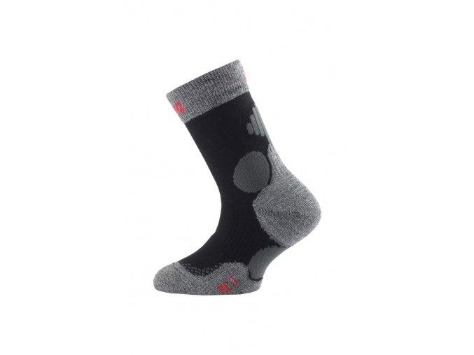 Lasting HCJ 900 černá junior  ponožky