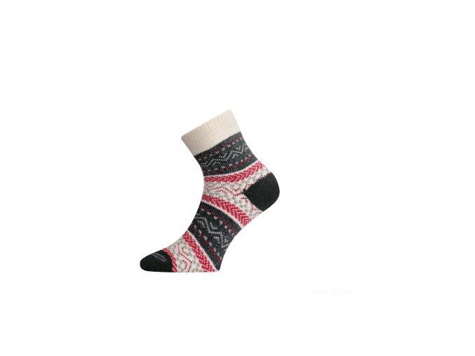 Lasting HMC 083 červená silná ponožka  ponožky
